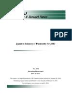Japan balance of payments