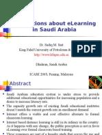 Perceptions About eLearning in Saudi Arabia