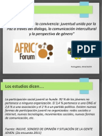 Participacion Juvenil Afric Forum 2014/10/29