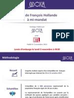 """Sondage. 71 % des Français font """"plus confiance"""" à Valls qu'à Hollande"""