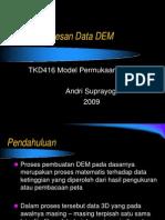 Pemrosesan Data DEM