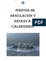 Depósitos de Regulación y Reserva. Calderines.