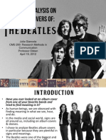 Beatles Semiotic Analysis