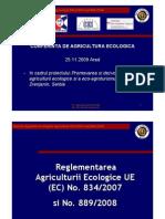 2.Reglementarea CE 834 Si 889 2009
