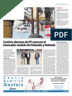 FP Alavesa visita Finlandia