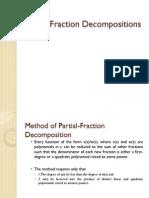 Partial Fraction Decompositions