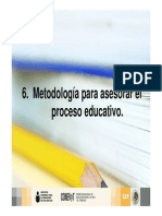 Metodologia Proceso Educativo Adultos