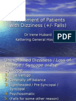 Assessment of Patients With Dizziness