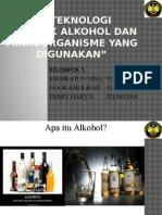 Bioteknologi Alkohol