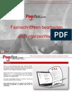 Faxnachrichten Bearbeiten Und Unterzeichnen