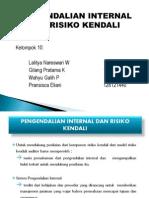 PPT AUDIT 1 BAB10 Pengendalian Internal & Resiko Kendali