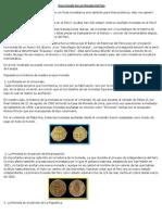 Breve Reseña de Las Monedas Del Perú