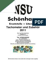 Katalog Tachometer Und Zubehoer