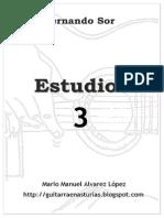 Sor F.- 10 Estudios- 3