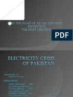 Electricity in pakistan