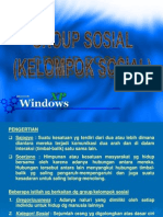 Lembaga, Kelompok & Organisasi Sosial Pertanian