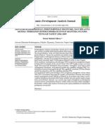 Pengaruh Kemiskinan, Pertumbuhan Ekonomi, dan Belanja Modal terhadap Indeks Pembangunan anusia di Jawa Tengah Thun 2006-2009