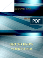 Program Mendepani Upsr English 2014