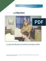 Guía Del Estudiante Criterion - 2011