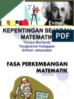Kepentingan Sej Maths