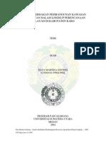 Analisis Pengembangan Kawasan Agropolitan Karo