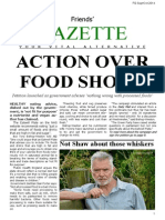 Friends' Gazette Sep/Oct 2014