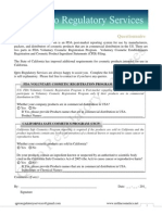 US FDA Cosmetic Product Ingredient Statements Filing CPIS Form_Qpro Regulatory Services