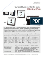 HF Shunts PPA Mar 2012