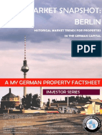 Investing in Berlin- historic market data for the retail and residential sectors