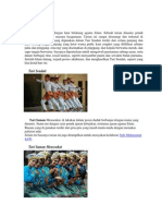 Macam Tarian Seluruh Indonesia