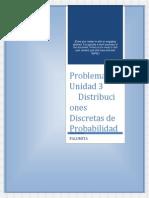 Problemas aplicados para la probabilidad y Estadistica