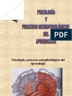 Psicología y Procesos Neurofisiológicos Del Aprendizaje