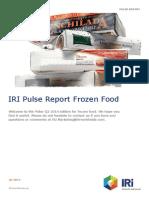 Pulse Report Frozen Food Q2-2014