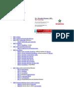 List of ICD 9 Regular