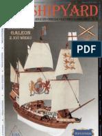 [Paper Model] - [Shipyard n°16] - HMS Revenge 2- galeon XVI (1)
