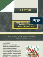 Depreciación, Amortización y Agotamiento (Cr