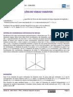 Funções de Várias Variáveis- Apostila 2014-1.Ed.