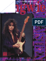 Yngwie Malmsteen - Guitar Instructional Book