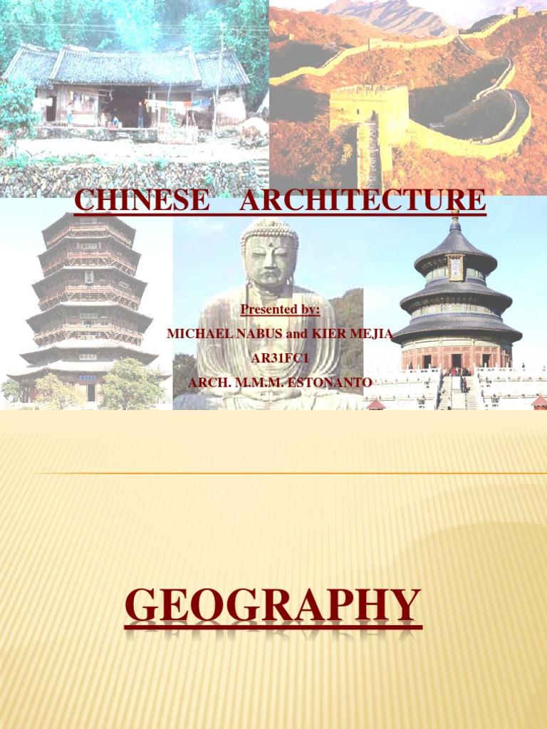 chinese architecture ppt