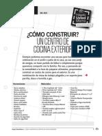 Mu-In21_como Construir Un Centro de Cocina Exterior