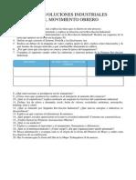 Trabajo Revoluciones Industriales y Movimiento Obrero 2014-2015