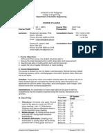 GE 1 - THW & THX Syllabus 1st Sem 2014-2015 (1)