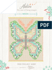 Winged- Alation Quilt Instructions