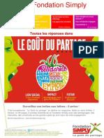 Newsletter Fondation Simply Market Oct-nov 2014