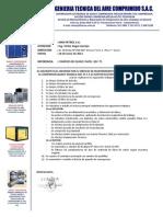 Informe Serv.reparac.compresor QSF75 - MAXPETROL