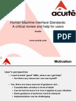 HMI Standards Review_Aug2012