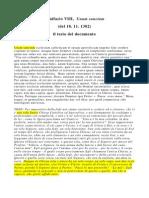 Bolla Papale - Una Sanctam_18.11.1302