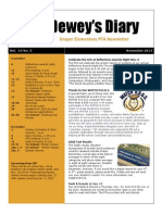 November 2014 PTA Newsletter