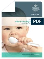 n56 infant feeding guidelines