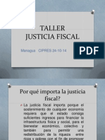 TALLER Justicia Fiscal 24-10-14